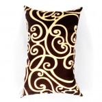 Bantal Silicon Abstrak Coklat