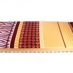 Kasur Busa Super Abstrak Coklat 120
