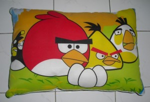 Bantal Silicon Angry Birds