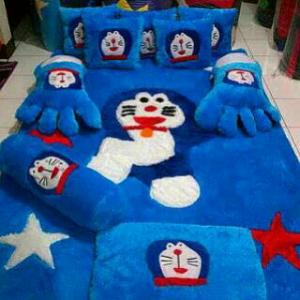 Kasur Karpet Fullset Doraemon