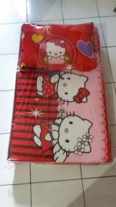 Kasur Busa Lipat Bantal Hello Kitty 90