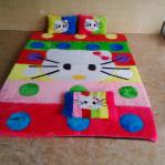 Kasur Karpet Karakter standar Hello kitty