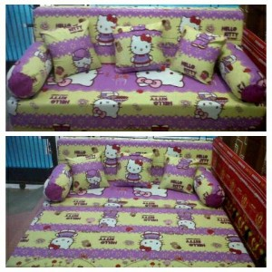 Sofa bed Busa Super Hello Kitty 160