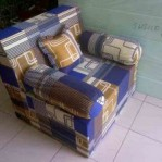 Sofa bed Busa Super Abstrak Kotak 70
