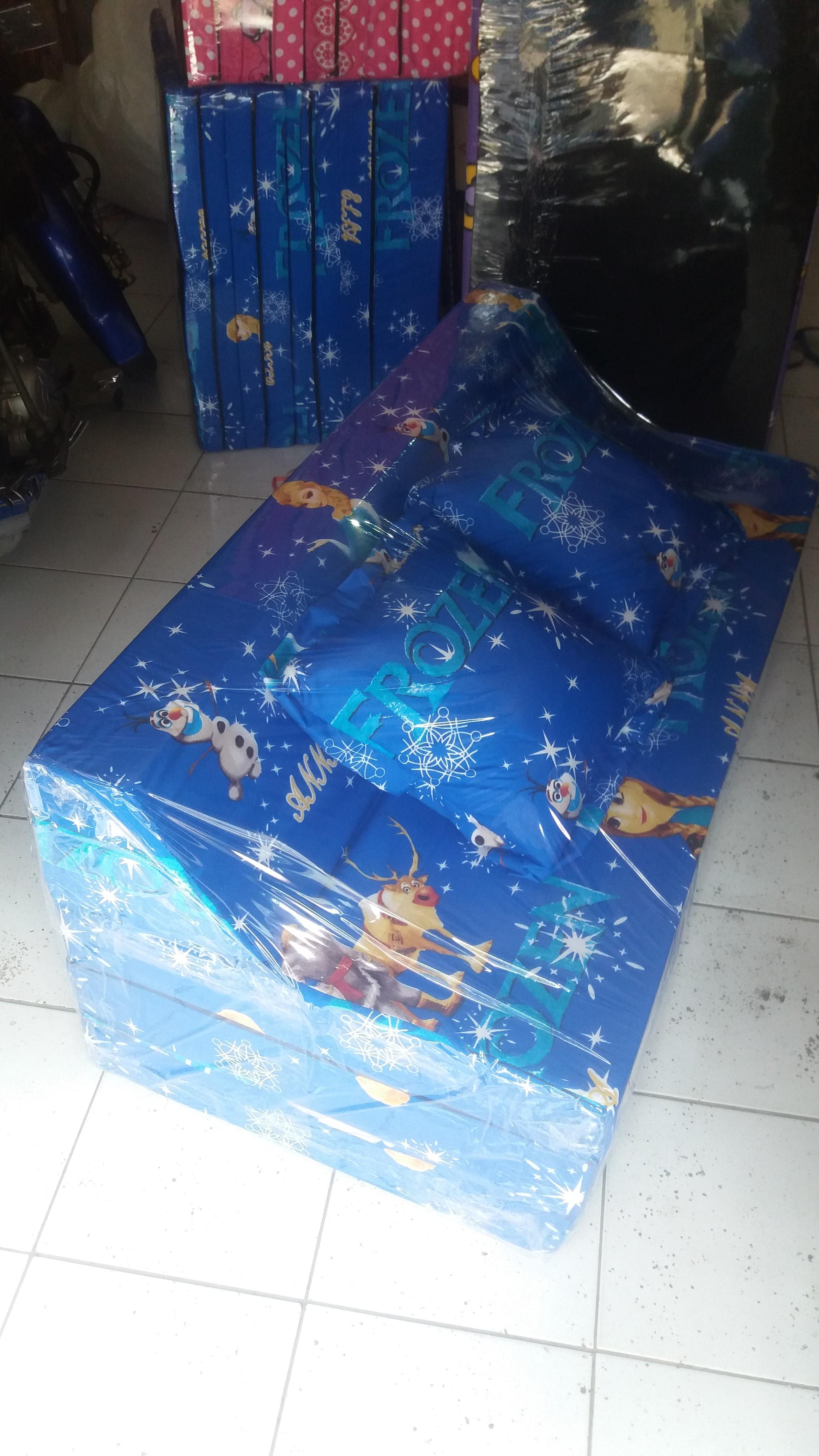 Sofa bed Busa Biasa Frozen 120 | Grosir Kasur Lipat Busa ...