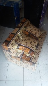 Sofa bed Busa Biasa Abstrak LV 90