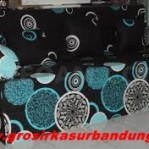 Sofa bed Busa Super Abstrak Hitam