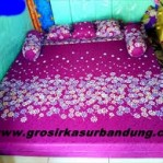 Sofa Bed Busa Super Motif Abstrak Bunga 180