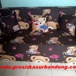 Sofa Bed Busa Super Motif Teddy Bear 160