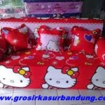 Sofa Bed Busa Super Motif Hello Kitty 120