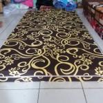 Kasur Busa Super 12010 Motif Abstrak Coklat