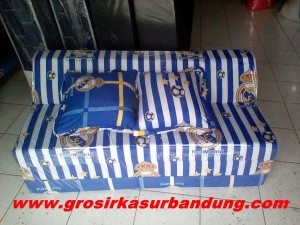 Sofa Bed Busa Biasa Motif Real Madrid 120