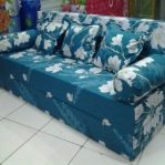 Sofa Bed Busa Super Motif Abstrak Bunga 18020