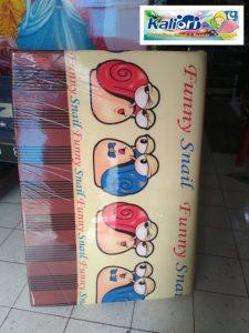 Kasur Busa Lipat Jumbo 120 Motif Funny Snail