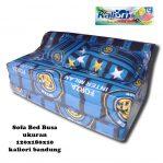 Sofa Bed Busa Biasa Motif Inter Milan 120x180x10
