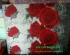 Kasur Busa Super Ukuran 160x200x20 Motif Bunga Rose Merah