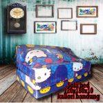 Sofa Bed Busa Biasa Motif Hello Kitty 120