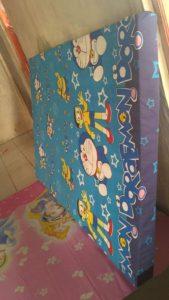 Kasur Busa Super Ukuran 180x200x14 Motif Doraemon