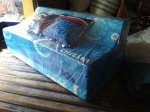 Sofa Bed Busa Biasa Motif Chelsea Ukuran 120x180x10