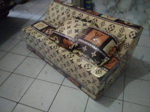 Sofa Bed Busa Biasa Motif Lv 12010