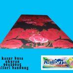 Kasur Busa Single Ukuran 90x190x5 Motif Bunga Rose