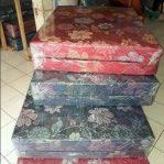Kasur Busa Lipat 2 Kain Spring Bed Ukuran 120x180x10 Kaliori Bandung