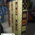 Kasur Busa Super Ukuran 120x200x20 Motif LV Coklat