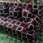 Sofa bed Busa Super Abstrak Kotak 90