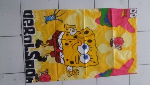 Sarung Bantal Cinta Spengebob