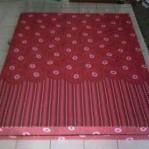 Kasur Busa Super Abstrak Merah 160