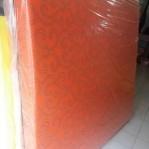 Kasur Busa Super Abstrak Orange 180