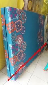 Kasur Busa Super Abstrak Biru 180
