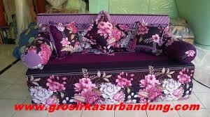 Sofa bed Busa Super Abstrak Bunga 160