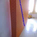 Kasur Busa Super Motif Abstrak Orange 160