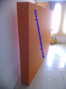 Kasur Busa Super Motif Abstrak Orange 160