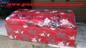 Sofa Bed Busa Super Motif Abstrak Bunga 18020