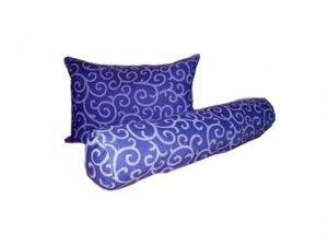 Bantal Silicon Motif Abstrak