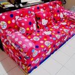 Sofa Bed Busa Super Motif Hello Kitty 18020