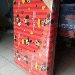 Kasur Busa Lipat Jumbo Ukuran 120x180x8 Motif Mickey Mouse