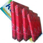 Kasur Busa Super Ukuran 180x200x20 Motif Bunga Rose