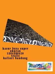 Kasur Busa Super 12010 Motif Tralis Hitam Kaliori Bandung