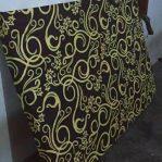 Kasur Busa Super Ukuran 90x200x14 Motif Tralis Coklat