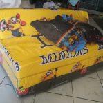 Sofa Bed Busa Biasa Motif Minion Kuning 120