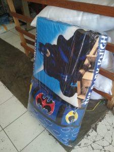 Kasur Busa Lipat Bantal Batman 90x180x4