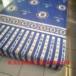 Kasur Busa Super Ukuran 140x200x20 Motif Bola Chelsea
