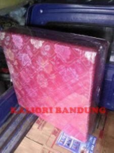 Kasur Busa Lipat 2 Kain Spring Bed 90 Warna Merah Kaliori Bandung