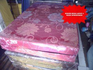 Kasur Busa Lipat 2 Kain Spring Bed Merah 14010