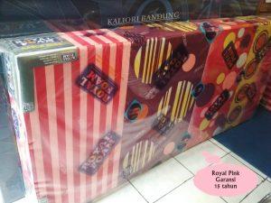 Kasur Busa Royal Pink 200x90x20