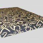 Kasur Busa Royal 200x120x14 Tralis Coklat