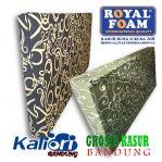 Kasur Busa Royal Foam 200x180x14 Tralis Coklat
